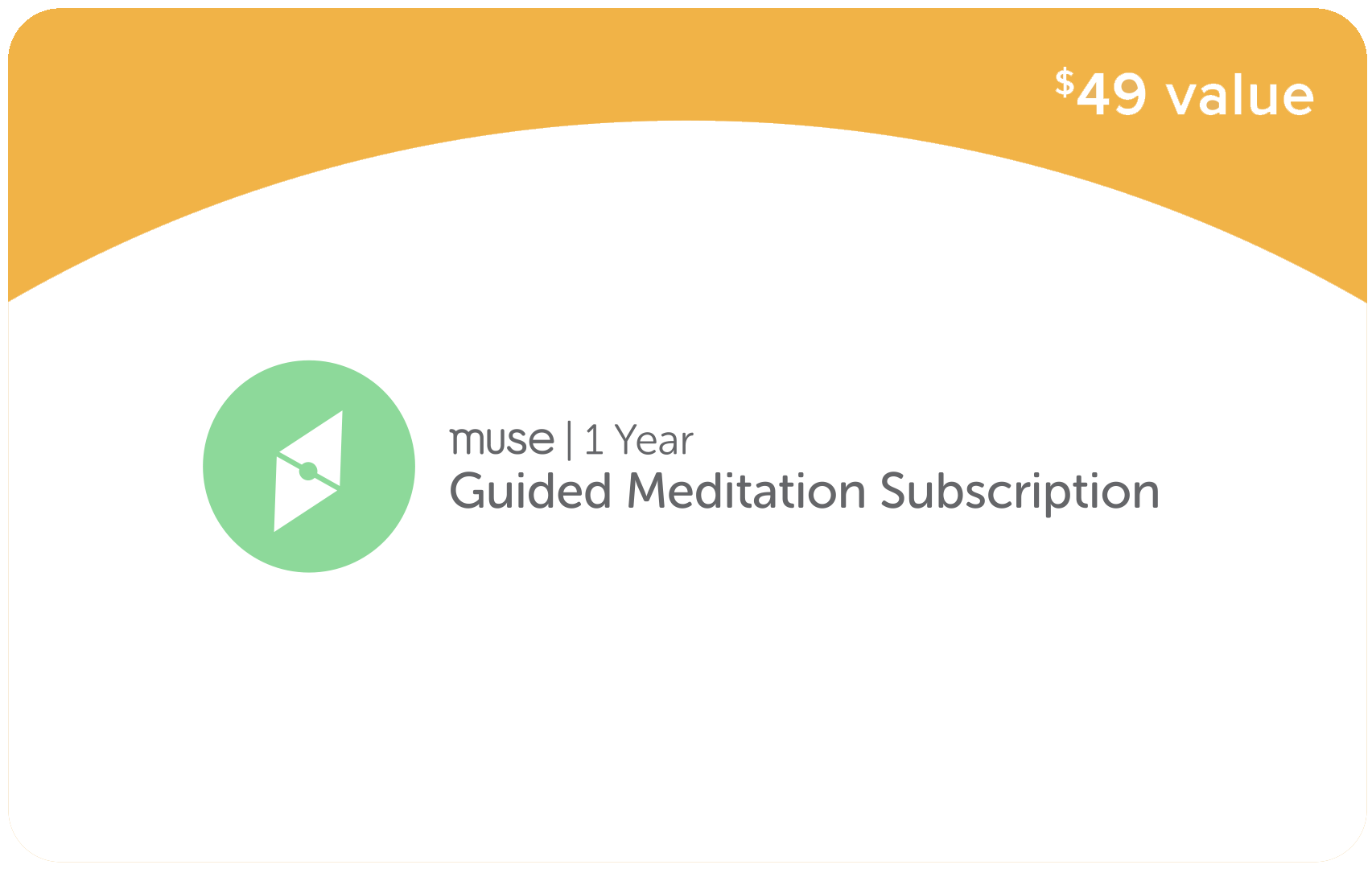 1 Year Guided Meditation Subscription (ENG)
