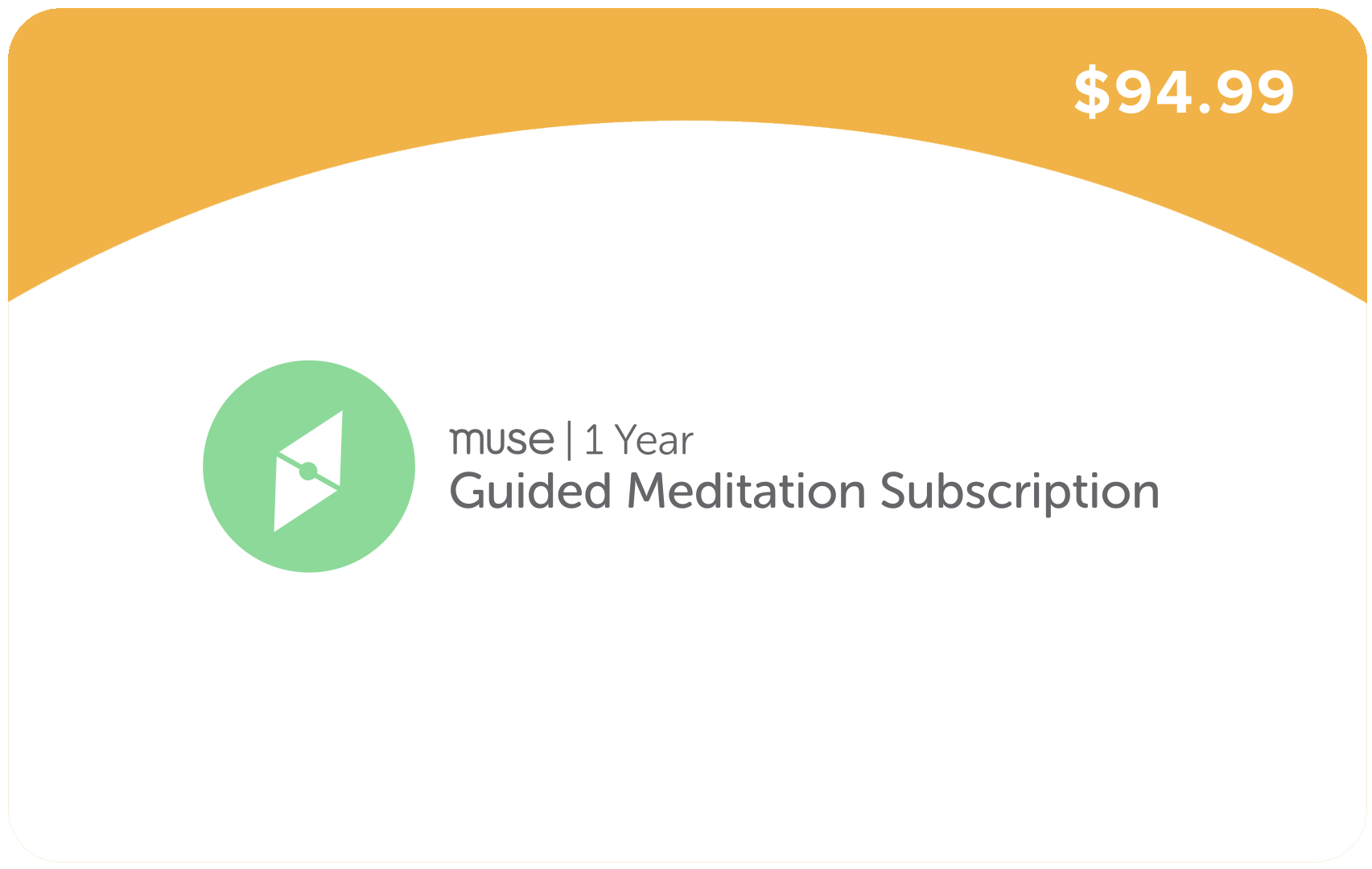 1 Year Guided Meditation Subscription